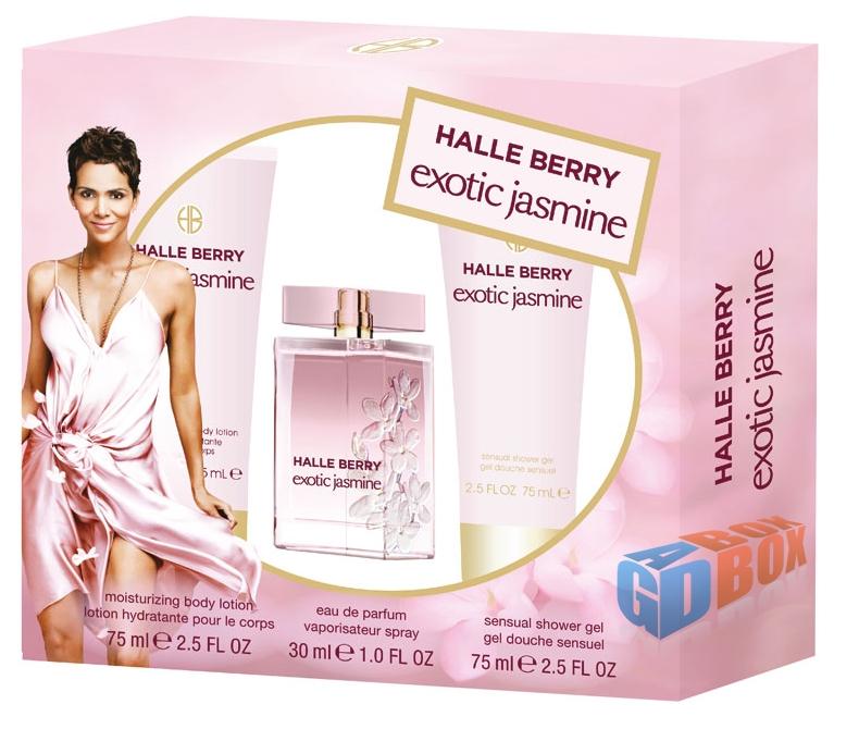 Zestaw kosmetyków HALLE BERRY exotic jasmine